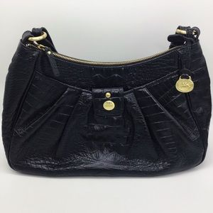 Brahmin Gorgeous Black Shoulder Purse
